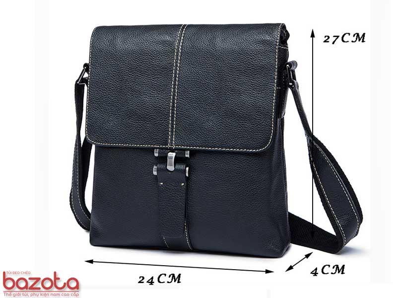 Kích thước túi ( Ngang x Cao x Sâu) là 24x27x4 cm.